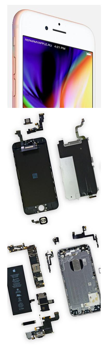ремонт iPhone 8 Plus в Екатеринбурге