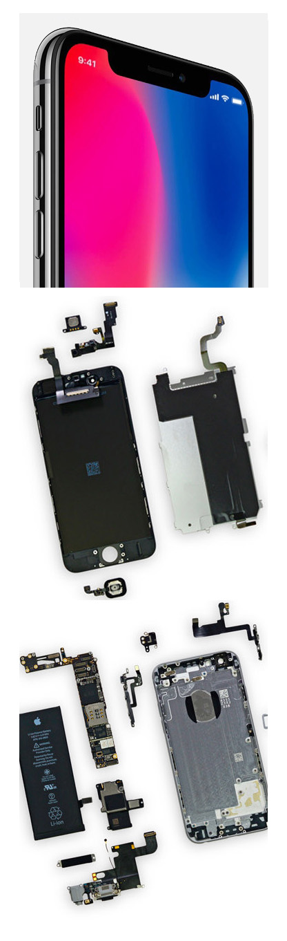 ремонт iPhone X, 10 в Екатеринбурге
