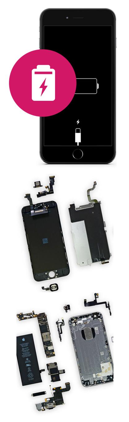 Замена аккумулятора на iPhone 8, 8 Plus в Екатеринбурге