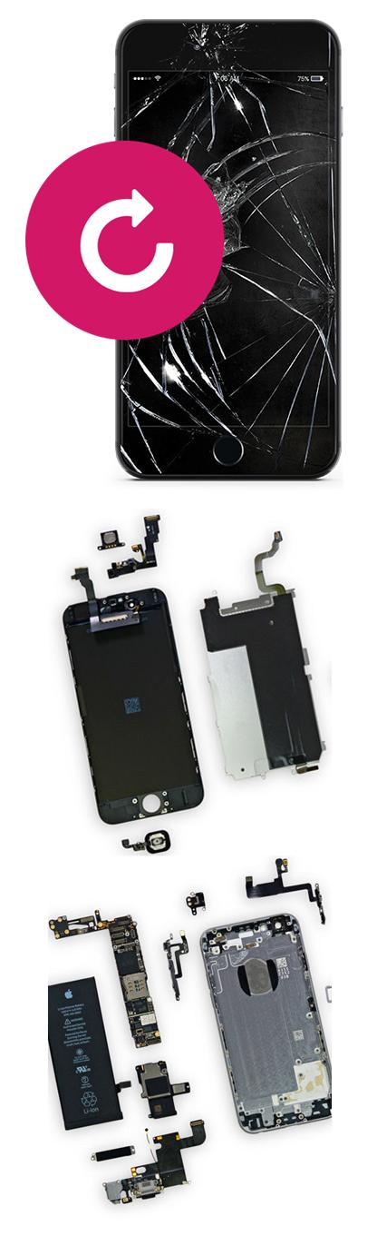Замена стекла на iPhone Xs Max в Екатеринбурге