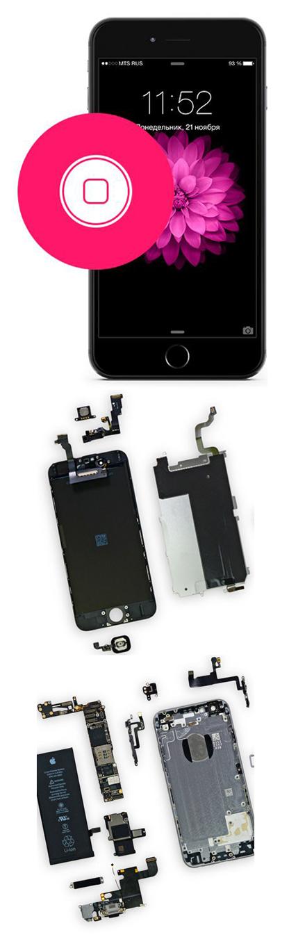 Замена кнопки Home на iPhone в Екатеринбурге