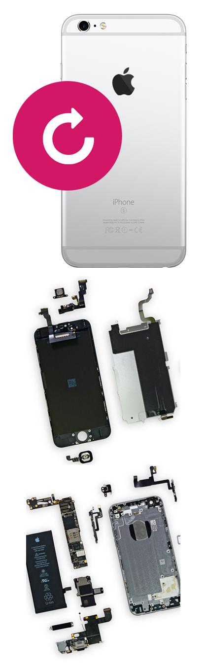 Замена корпуса на iPhone в Екатеринбурге